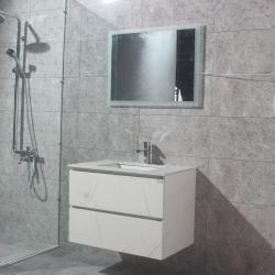 Mur de verre de style australien lavabo Salle de bains de la vanité des unités de la céramique Basion