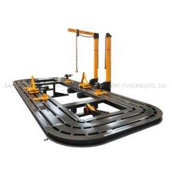 إطار إصلاح التصادم في هيكل السيارة آلة سحب الهيكل التلقائي الطويل