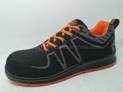 Безопасности в спортивном стиле зерноочистки со стальным носком и дополнительное освещение материала оранжевого цвета