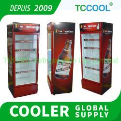 商業縦のガラスBeer Companyのためのドアによって冷やされているクーラー