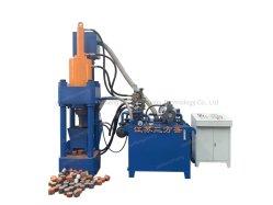 Mise au rebut hydraulique Puce en aluminium Cuivre Fer Briquette Appuyez sur la machine
