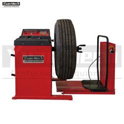전자식 모터 구동식 디지털 중부하 작업용 자동차 트럭 버스 휠 밸런서 기계