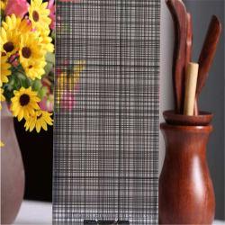 Dargestellte verdrahtete Muster/die geätzte/Sandstrahlen/Dekoration Säure/milderten Dusche-Tür/Fenster-Glas