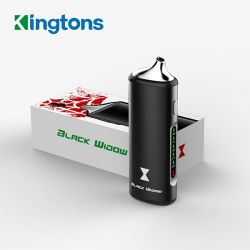 Популярный Kingtons сухой травы испаритель черная вдова Quit курение сигарет