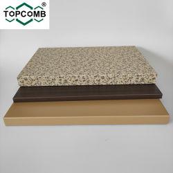 커튼 월 및 벽용 알루미늄 허니콤 샌드위치 패널 클래딩