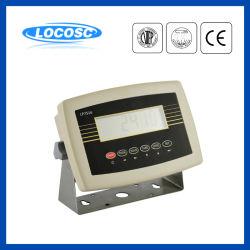 Peso Digital della visualizzazione dell'affissione a cristalli liquidi della scala LED delle cifre Lp7516 6 che pesa l'indicatore elettrico del peso