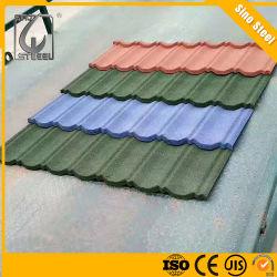 0,42 mm Épaisseur Tuile de pierre de couleur pour la maison Roofing