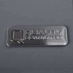 영원한 접착성 품질 보장 레이블 스티커 은 알루미늄