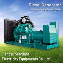 500kw 625kVA Groupe électrogène diesel Cummins électrique générateur de puissance Norme ISO 3046