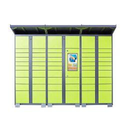 Smart Locker con controller intelligente per la consegna di pacchi all'aperto
