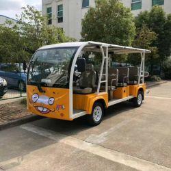 8シートの電気漫画観光バス遊園地の子供の公園の観光車