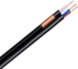 السعر الجيد RoHS CE UL ETL الاختبار المعتمد Rg11 Rg213 RG8 RG6 Rg59 كابل محوري RG6 مع حاوية للكاميرا للقمر الصناعي
