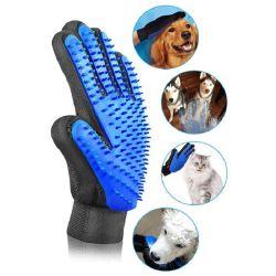 실리콘 Deshedding Bath Cat Dog PET Grooming Groove 장갑