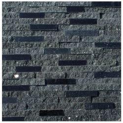 Natur-schwarze Granit-Kultur-Steinwand-Wand-Dekoration-Umhüllung-heißer Verkauf