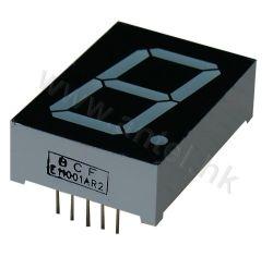 1.0 Segment LED-Bildschirmanzeige-einzelnes Digit des Zoll-sieben für Elektronik