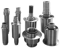 Механические узлы и агрегаты высокого качества на заводе вал с настраиваемой службы