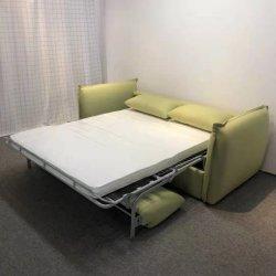 Фантазии дизайн непосредственно на заводе продаж спальный номер складными 2 мест низкая цена ткань диван-кровать с матрацем