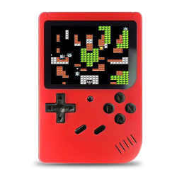 Retro Mini Handheld videoconsola portátil de 8 bits de 3.0 pulgadas LCD Color Color de los niños del reproductor de video juego construido en 400 juegos Joystick