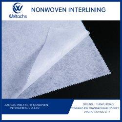 Haute qualité Non-Woven Tearaway élastique broderie Fusible rapide d'interligne de la ceinture de fusion soluble dans l'interligne