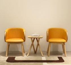 Svago ricoperto mobilia di legno cinese moderna che pranza presidenza