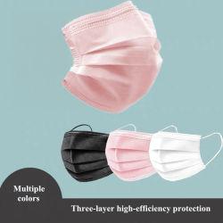 工場直接青いカスタマイズされたカラー3つの層の使い捨て可能なアンチウィルスのであり、防護マスク