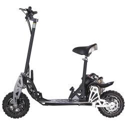 成人用電動式 70cc ガススクーターガススケートボードを折りたたみます