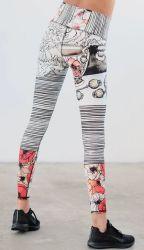 Spaxmalathionprinting ボディシェイパーヨガパンツ流行のスタイル MS サマーシン ハイウエストタイトストレッチパンツアイスシルクを着てコートを着よう 最新のパンツストレッチ