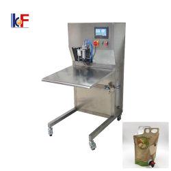 自動液体充填機と Bib 水 / ワイン / オイルバッグが同梱されています 充填機