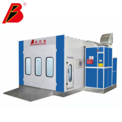 Cabina de pintura China Alquiler de cabina de pintura fabricante CE Auto cabina de pintura para la venta