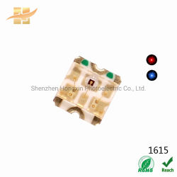 1615 SMD LED Chip-zweifarbige rote blaue helle Chip Beleuchtung-Dioden 1615 der RGB-LED Dioden-LED
