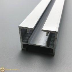Gl4007 Rideau électrique de la piste dans le profil en aluminium