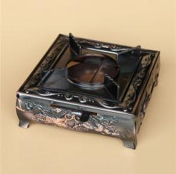 Estufa de alcohol líquido sólido de cobre de imitación de la caldera en seco/Portable Hornillo de alcohol al aire libre
