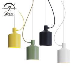 Restaurante simples moderno Murano única Cabeça Criativa Iluminação de moda de alumínio