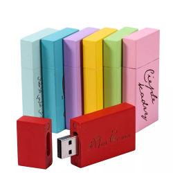 Привлекательный логотип Custom деревянные флэш-накопитель USB диск клена и карта памяти Memory Stick перо диск 64 ГБ 16ГБ 32ГБ с 5 цветов