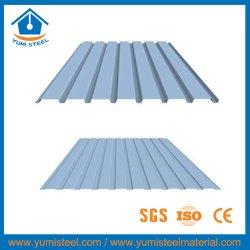 El color del techo de chapa de acero corrugado/pared de revestimiento de metal