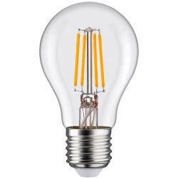 도매 가격 4W, 6W, 8W, 10W, 12W, 15W LED 램프 E26 E27 E14 E12 밝기 조절 가능 A60 LED 필라멘트 전구