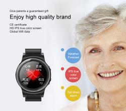 H19 Carte SIM Bande intelligente de la pression artérielle Le Chat vocal Mtk250+LB+WiFi GPS de la carte SIM Bracelet montre téléphone intelligent Smart