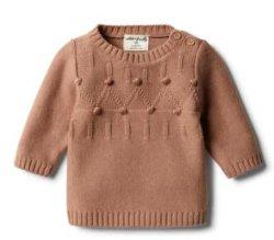 Ребенка трикотажные свитера для детей из жаккардовой ткани перемычка
