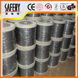 Fil d'acier haut carbone/Fil en acier à ressort/Fil en acier galvanisé/fil ressort en acier inoxydable /Fil d'acier/PC sur le fil