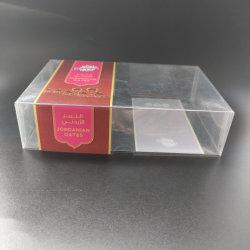 Dom PET caixa de embalagem de plástico descartáveis sushi/bolo de pão/recipiente de alimentos