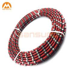 El cable Saw cantera de granito mármol Hormigón Armado para corte de acero