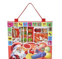 Noël cute baby enfants's Gift Set de papeterie boîte cadeau Creative Cartoon Étudiant primaire de la Papeterie