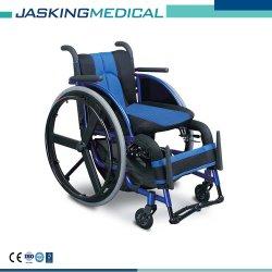Peso ligero de aluminio plegable silla de ruedas de ocio y deporte (JX-633LQF1-36)