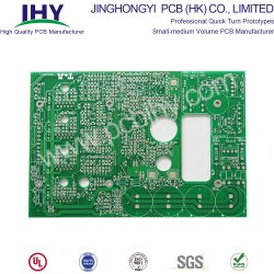 2 слоя печатной платы электронные цепи печатной платы с жесткой рамой RoHS многослойных печатных плат платы зарядного устройства в беспроводной сети