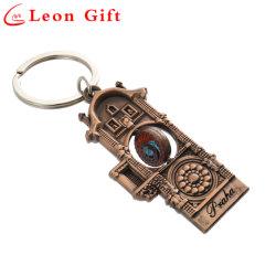 記念品のギフトのためのカスタム工場品質の骨董品の金属回転式Keychain