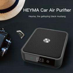 De Auto van Heyma van Soto met Zuiveringsinstallatie van de Lucht van de Vertoning van de Filter Pm2.5 van de Koolstof HEPA van de Batterij de Negatieve Ionen Ware