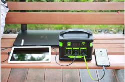 Allsparkpower 110Wh-500wh Multifunções em baterias de lítio portátil Solar Banco de potência com luz LED Mini-Solar de alimentação de energia