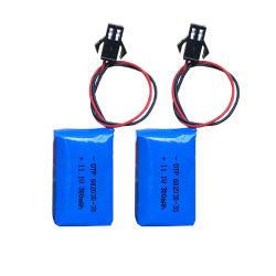 602030 300mAh 11,1V Bateria recarregável de polímero de lítio