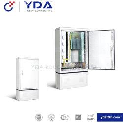 Fournisseur IP65 FTTH en fibre optique armoires SMC Cross connect Fo Connexion transversale Cabinet pour le réseau