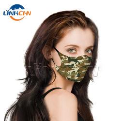 Tejido de poliéster personalizadas Filtro de paño de algodón reutilizables mascarillas protectoras